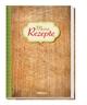 Rezeptbuch 'Meine Rezepte' Holz