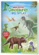 Mein erster Dinosaurier Weltatlas Stickerbuch