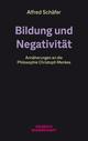 Bildung und Negativität