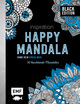 Black Edition: Inspiration Happy Mandala