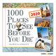 1000 Places To See Before You Die - Tageskalender 2020