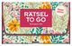 Rätsel to go Denksport-Mix: flower edition