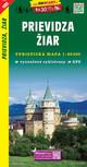 Prievidza, Ziar / Priwitz, Heiligenkreuz (Wander - Radkarte 1:50.000)
