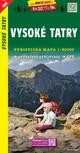 Vysoké Tatry / Hohe Tatra (Wander - Radkarte 1:50.000)