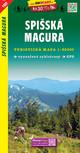 Spisská Magura / Zipser Magura (Wander - Radkarte 1:50.000)
