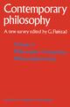 Volume 1: Philosophy of Language