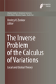 The Inverse Problem of the Calculus of Variations