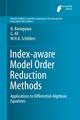 Index-aware Model Order Reduction Methods