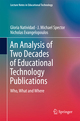 An Analysis of Two Decades of Educational Technology Publications