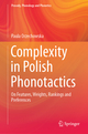 Complexity in Polish Phonotactics