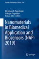 Nanomaterials in Biomedical Application and Biosensors (NAP-2019)