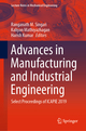 Advances in Manufacturing and Industrial Engineering