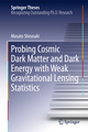 Probing Cosmic Dark Matter and Dark Energy with Weak Gravitational Lensing Statistics